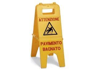 """CAVALLETTO """"PAVIMENTO BAGNATO"""""""